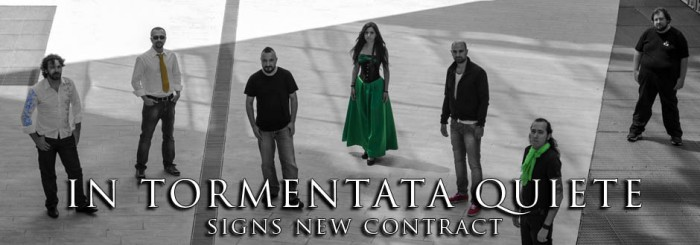"IN TORMENTATA QUIETE renews deal with My Kingdom Music for the new album release ""Cromagia"""