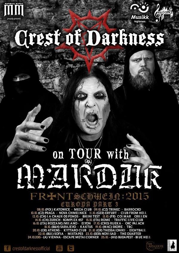 Marduk tour poster