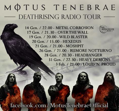 Deathrising Radio Tour