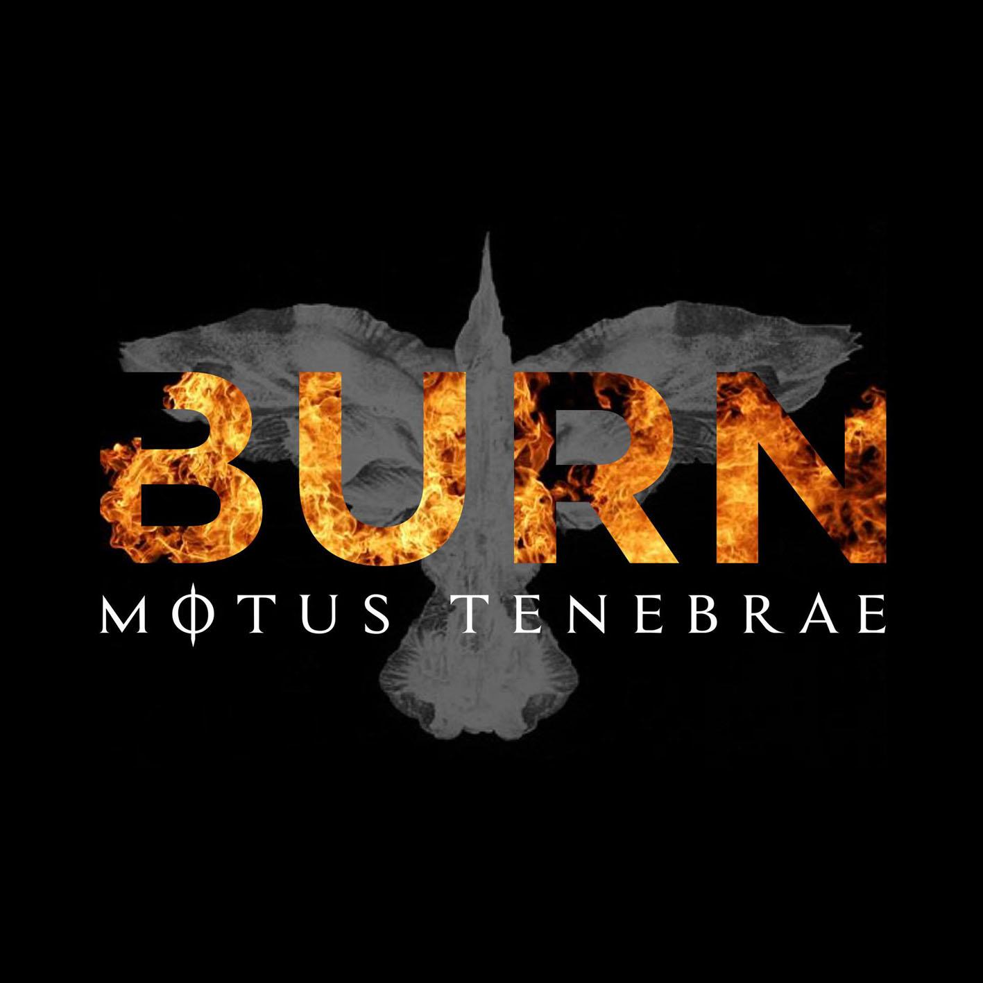 Motus Tenebrae - Burn cover