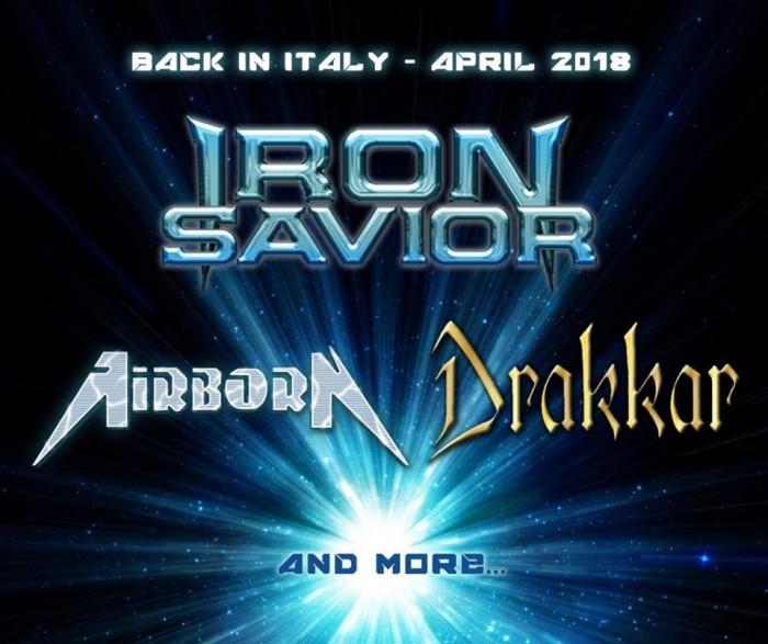 Drakkar - live Iron Savior
