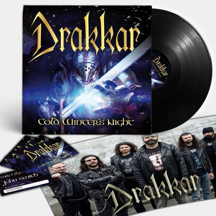 Drakkar EP vinyl poster