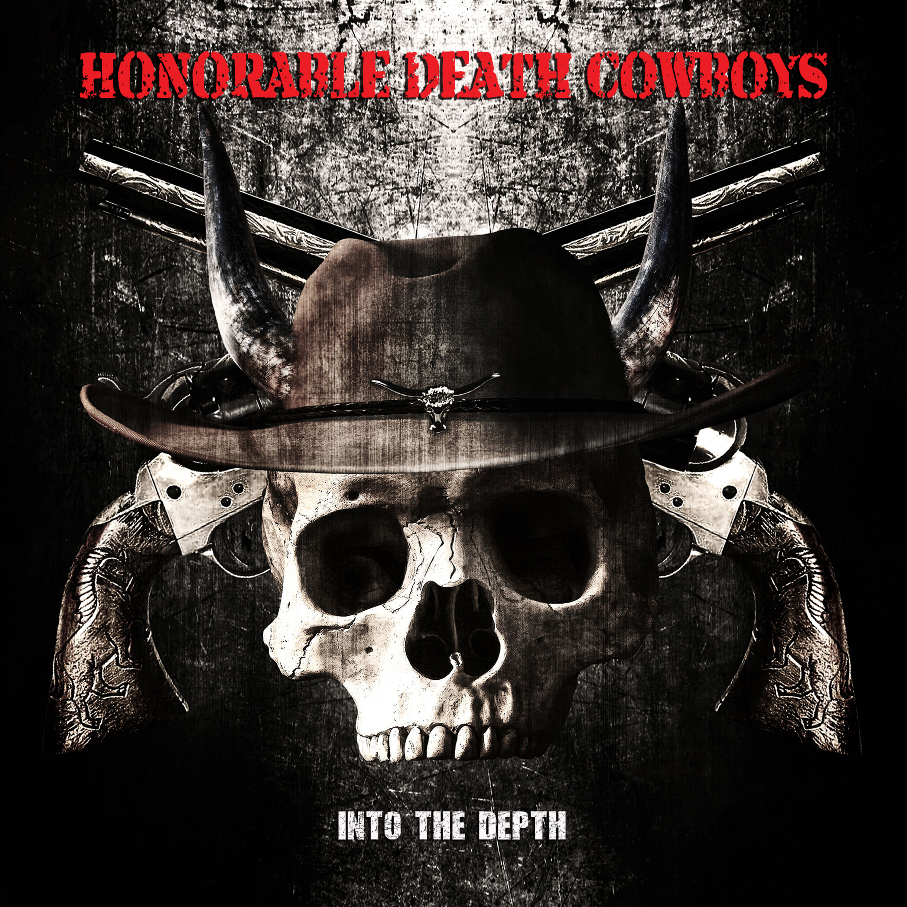 Honorable Death Cowboys - cover bis