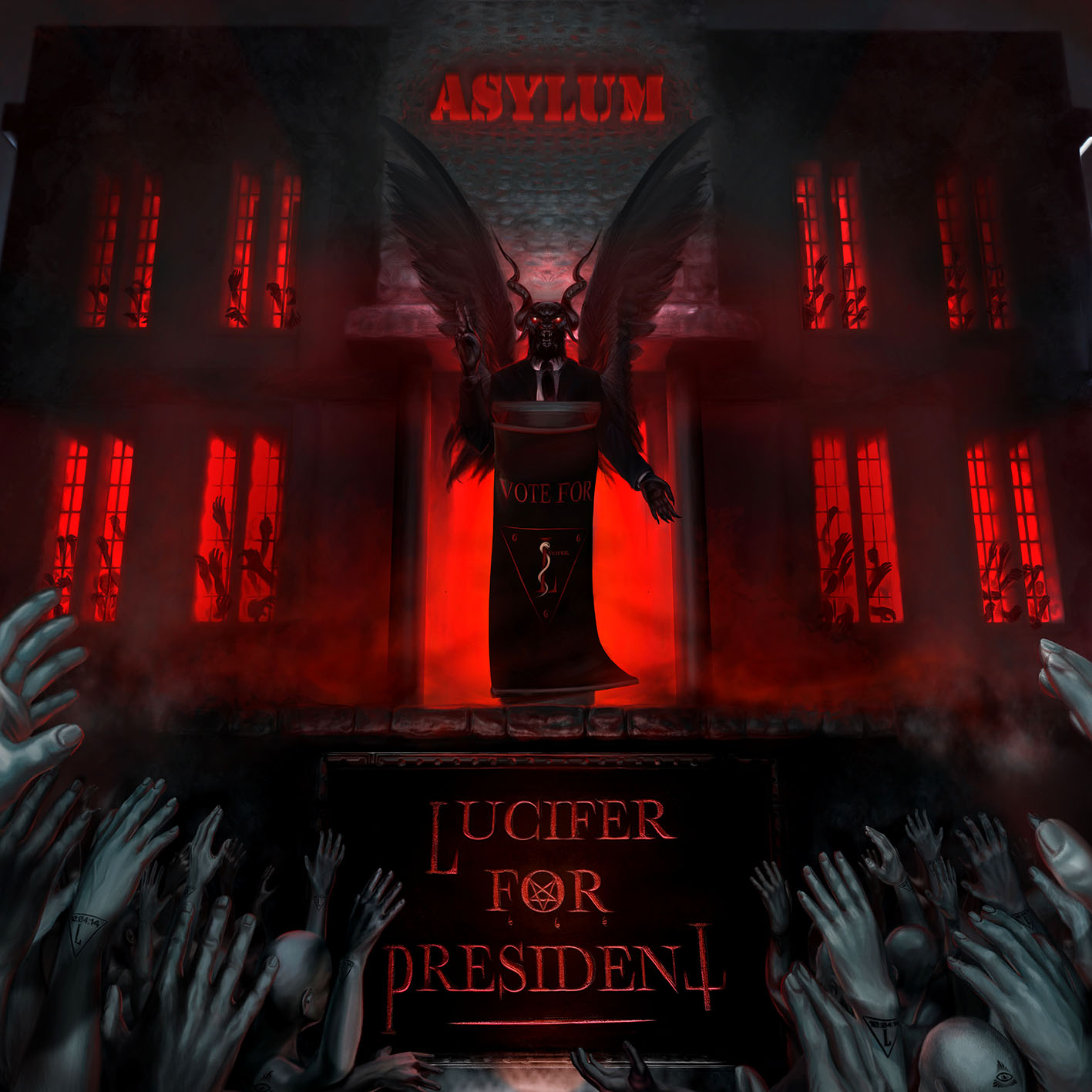 Lucifer For President - cover HD
